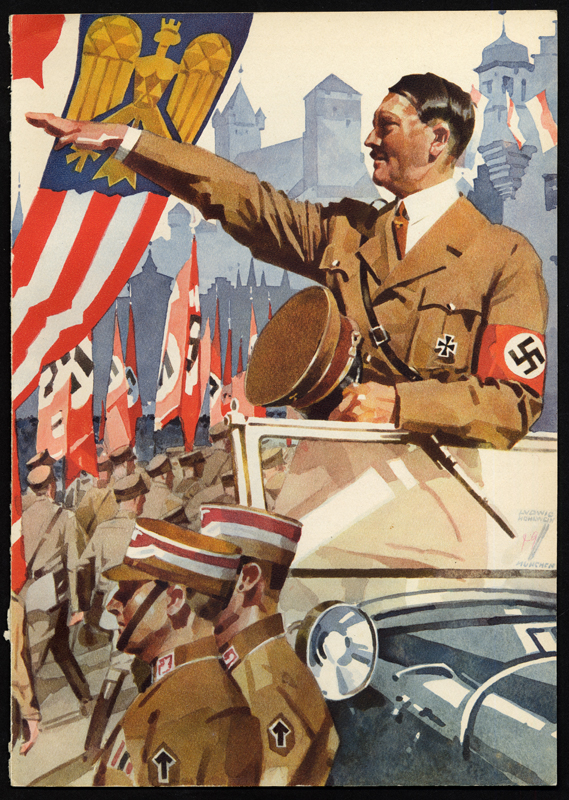 the nazi takeover and the role of propaganda for totalitarism United nations — propaganda is a truly terrible weapon in the hands of an expert, wrote adolf hitler in 1924 over the next 20 years the nazi party harnessed mass media to win broad voter.