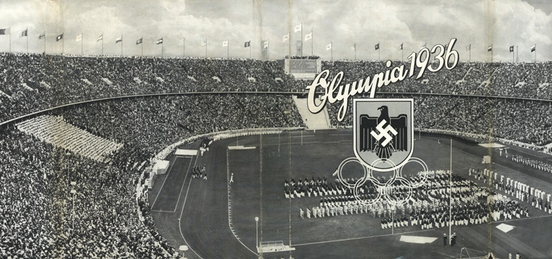 an overview of the 1936 nazi olympics The 1936 winter olympics, officially known as the iv olympic winter games (french: les ives jeux olympiques d'hiver) (german: olympische winterspiele 1936), were a winter multi-sport event which was celebrated in 1936 in the market town of garmisch-partenkirchen in bavaria, germany.
