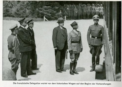 XB1990.1715_1940_ French_delegation_preparing to endure the Nazi humiliation