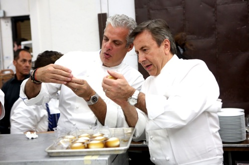 Eric Ripert & Daniel Boulud