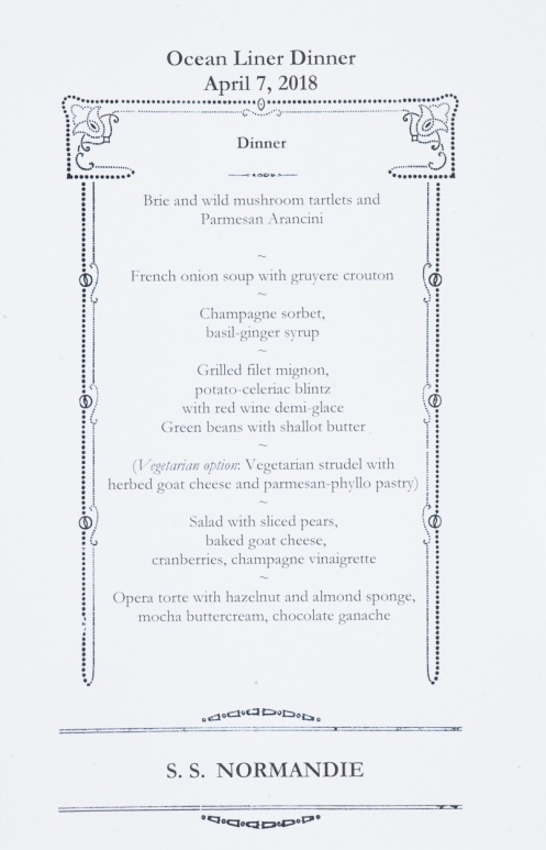 Normandie Menu Page2